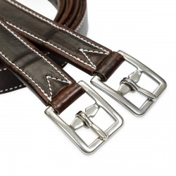 Calf-lined stirrup leather